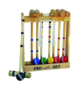Looking for CROQUET SET/GAME.