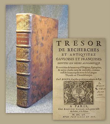 1655 Alchemie Alchemy Flamel Sendivogius Etymologie Etymology Linguistics Borel