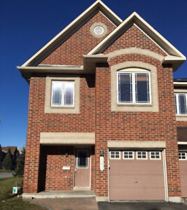 Lovely Barrhaven 4 bedroom townhouse for rent from April
