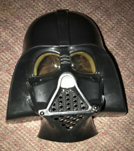 Darth Vader 3D Mask for display or Halloween Costume