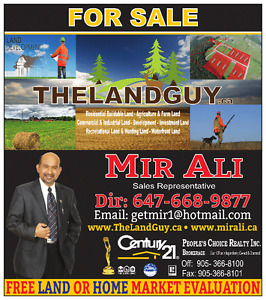 LOOKING FOR LAND ? ................... ANY LAND !!!!!!!!