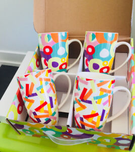 Maxwell Williams Parade set of 4 mugs (Brand New)