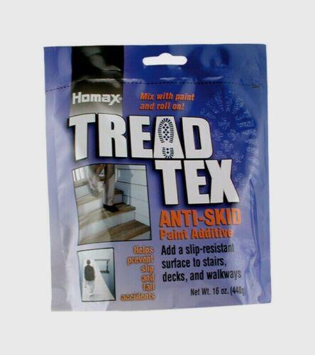 Homax TREAD TEX White Anti-Skid PAINT ADDITIVE Stairs Decks Walkways 8600-6 NEW!