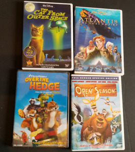 10 Disney/Pixar  DVDs bundle