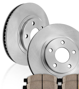 Front OE Brake Rotors and Ceramic Pads - SCION TC, TOYOTA CELICA