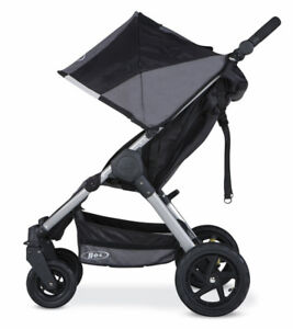 Bob Motion Stroller with Car Seat Adapters (Included!)  - Black