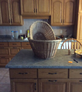 New price Two wicker clothes baskets