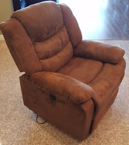 Brown Recliner Chair (Electronic)
