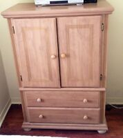 Bedroom set Dresser Night Tables & Armoire