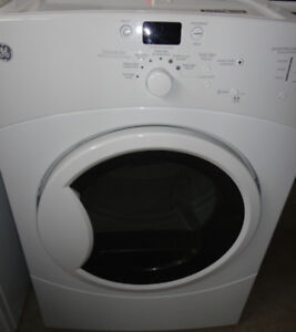 GE White Dryer Front Loaded In Great Condition