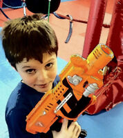 NERF GUN PARTIES: THE PERFECT BIRTHDAY OR GROUP EVENT!