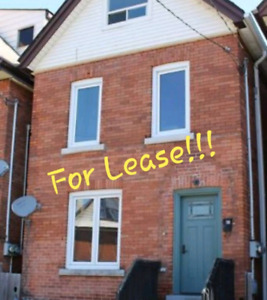 House for Rent Main Floor or 2nd Floor Units
