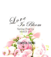 Elemental Trends Love in Bloom Pop Up