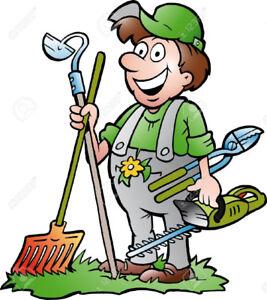 Jardinier services dans grand montr al petites for Service jardinier