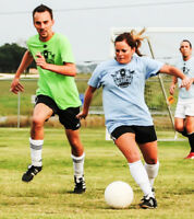 Coed Soccer Players - Females