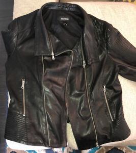 Brand New Black Danier Leather Jacket