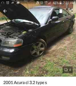 2001 acura cl 3.2 $1000 or best offer