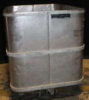 Vintage G.H. Bishop Lifetime Truck Heavy Duty Rolling Water Tub