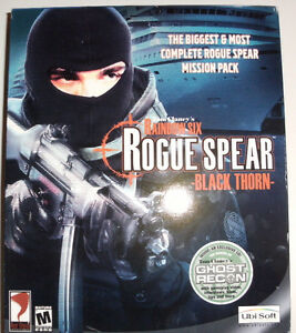 Tom Clancy's RAINBOW SIX: ROGUE SPEAR BLACK THORN (PC Software)