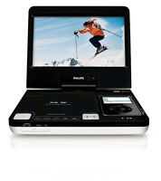 """Philips 8.5"""" LCD DVD/iPod Portable Docking Entertainment System"""
