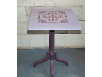 Painted Small Wooden Breakfast Tables