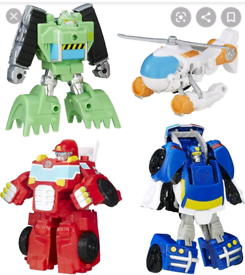 **TRANSFORMERS RESCUE BOTS WANTED***