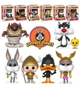 Lot of 8 - Looney Tunes Funko Pops + Exclusives