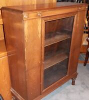 SMALL ANTIQUE CHINA CABINET - PETIT VAISSELIER ANTIQUE