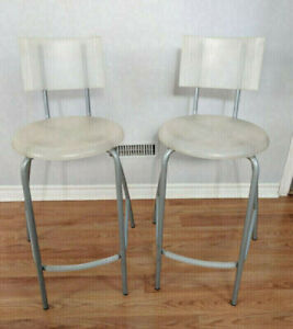 ikea chair kitchen dining counter high back stool Chair