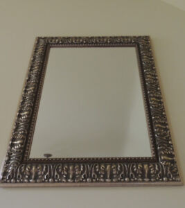Custom gold & taupe Mirror