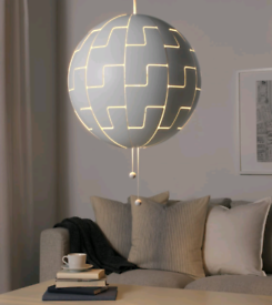 New IKEA PS 2014 Death Star Wars Light Pendant Lamp Shade Cool Sci Fi