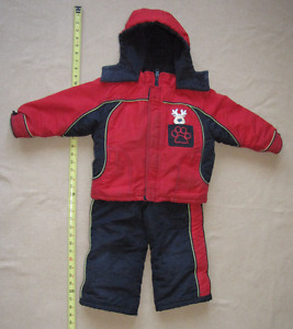 Well-Loved Unisex Moose Snowsuit – 24 month