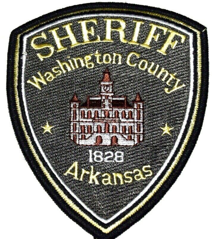 WASHINGTON COUNTY ARKANSAS AR Sheriff Police Patch COURTHOUSE ~