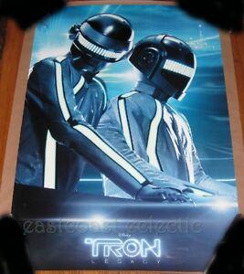 Tron-Legacy-DAFT-PUNK-Glow-in-Dark-Poster-27x39-Print-Not-Ansin-Tan-Variant