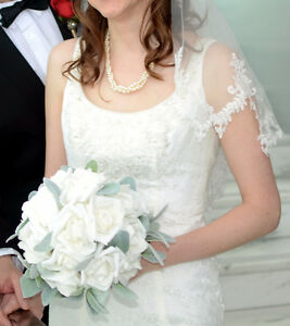 Size 4 Ivory Dress