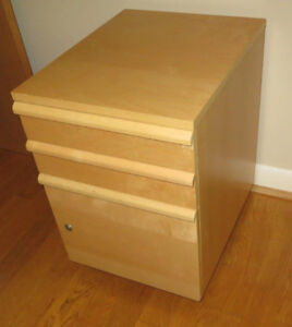 IKEA Drawer unit/drop file storage on casters