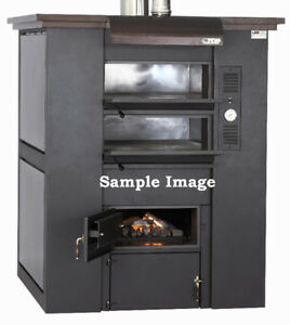 PEVA WOOD BURNING DOUBLE DECK PIZZA OVEN - BRAND NEW