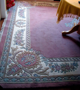 Hand Made Oriental Area Rug