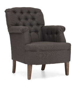 GREY ACCENT CHAIR ON CLEARANCE Peterborough Peterborough Area image 1