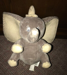 "Disney Dumbo the Elephant 10"" Plush Baby Super Soft beanie"