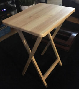 Urgent Sale!! $15 Small Wooden Foldable Table