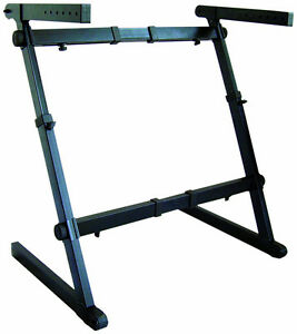 NEW*Quik-Lok Z-70 Width Height Adjustable Z Keyboard Piano Stand