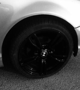"18"" BMW Rims ( black )"
