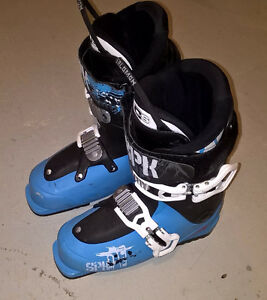 Salomon SPK Ski Boots - Size 24.5 (287 mm), Blue/Black