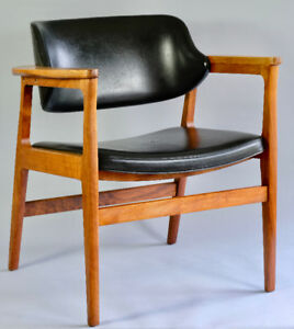 Vintage Cyril G Burch Walnut Armchair - Danish Modern