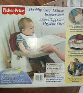 Deluxe feeding/booster chair