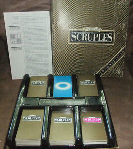 A Question of Scruples Second Edition Complete Milton Bradley 19 West Island Greater Montréal image 1