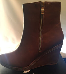 Tory Burch Flats, Brown Riding Boots & Wedge Booties London Ontario image 3