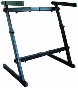 NEW*Quik-Lok Z-70 Width Height Adjustable Z Keyboard Piano Stand