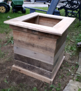 Planters wooden boxes beehive